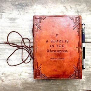 Other - ⌛️ LAST ONE >> if a story is... leather journal